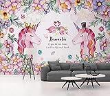 Papel Pintado Murales Póster Unicornio Imágenes Kids Room Pet Shop Foto Fondo De Pantalla-350Cmx256Cm
