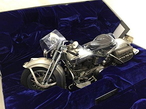 Franklin Mint 1948 Harley Davidson Panhead in Fine Pewter 1/12