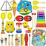 Wesimplelife Juguetes Musicales Instrumentos Musicales para Niños...