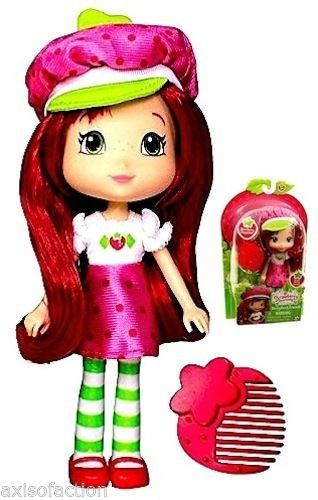 """Strawberry Shortcake Berry Best Friends Strawberry Shortcake with comb Scented Doll 6"""" The Bridge Direct Inc."""