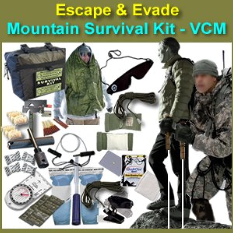 Escape & Evade Mountain Survival Kit  Tactical Military (VCM)