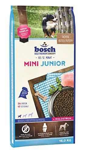 bosch HPC Mini Junior | Hundetrockenfutter zur Aufzucht kleiner Rassen (bis 15 kg) | 1 x 15 kg