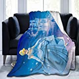 CERYS RILEY CIN-Dere-lla Comfortable Ultra-Soft Micro Fleece Blanket Black 50'' x40
