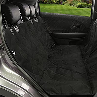 Oxford Waterproof Pet Seat Cover/Dog Hammock With Adjustable Buckles And Seat Belt Openings for Cars/SUV's/Trucks