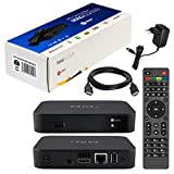 MAG 322 Original Infomir & HB-DIGITAL IPTV Set TOP Box Multimedia Player Internet TV IP Receiver (HEVC H.256 Support) Nachfolger von MAG 254 + HB Digital HDMI Kabel -