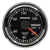 ピボット(Pivot) コンパクトゲージ 52 シングルメーター 水温計 CPW CPW
