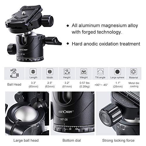 K&FConcept『DSLR用78インチカメラ三脚』