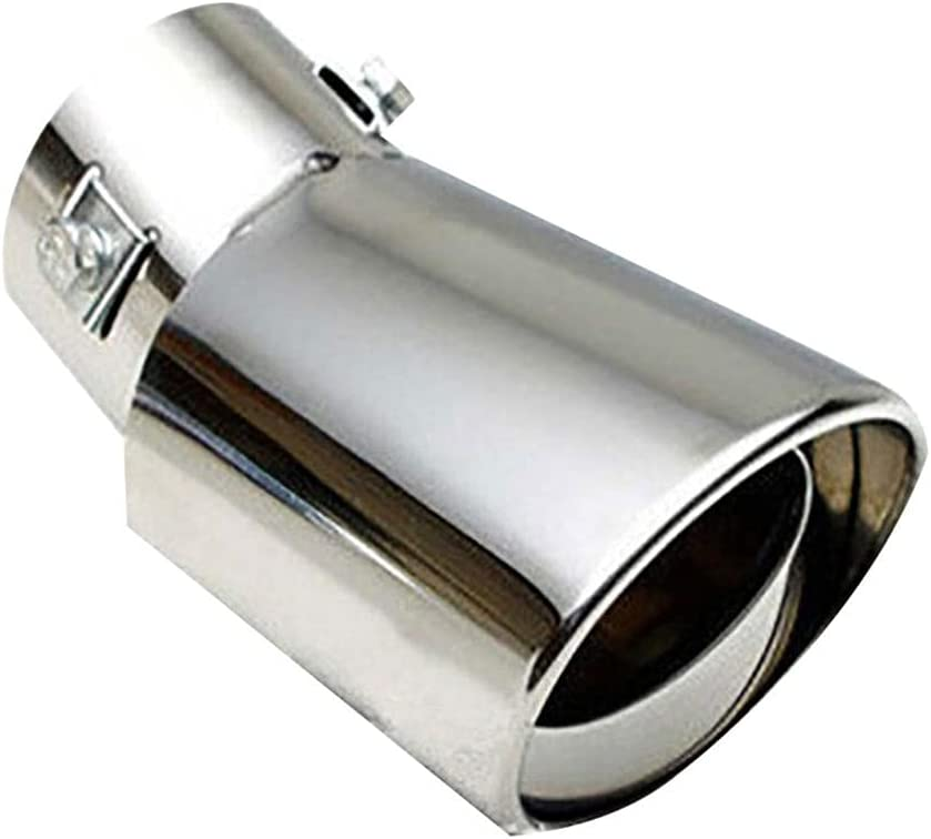 NUIOsdz Car Stainless Free OFFicial shipping anywhere in the nation Steel Tail System Throat Exhaust P Muffler