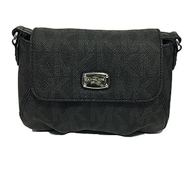 Michael Kors Signature PVC Small Flap Crossbody Bag