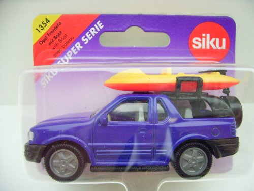 Siku 1354 - Opel Frontera mit Boot