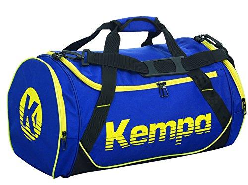 Kempa Sporttasche 75 L (L) Taschen, deep blau/Schwarz/limonen, 45 cm