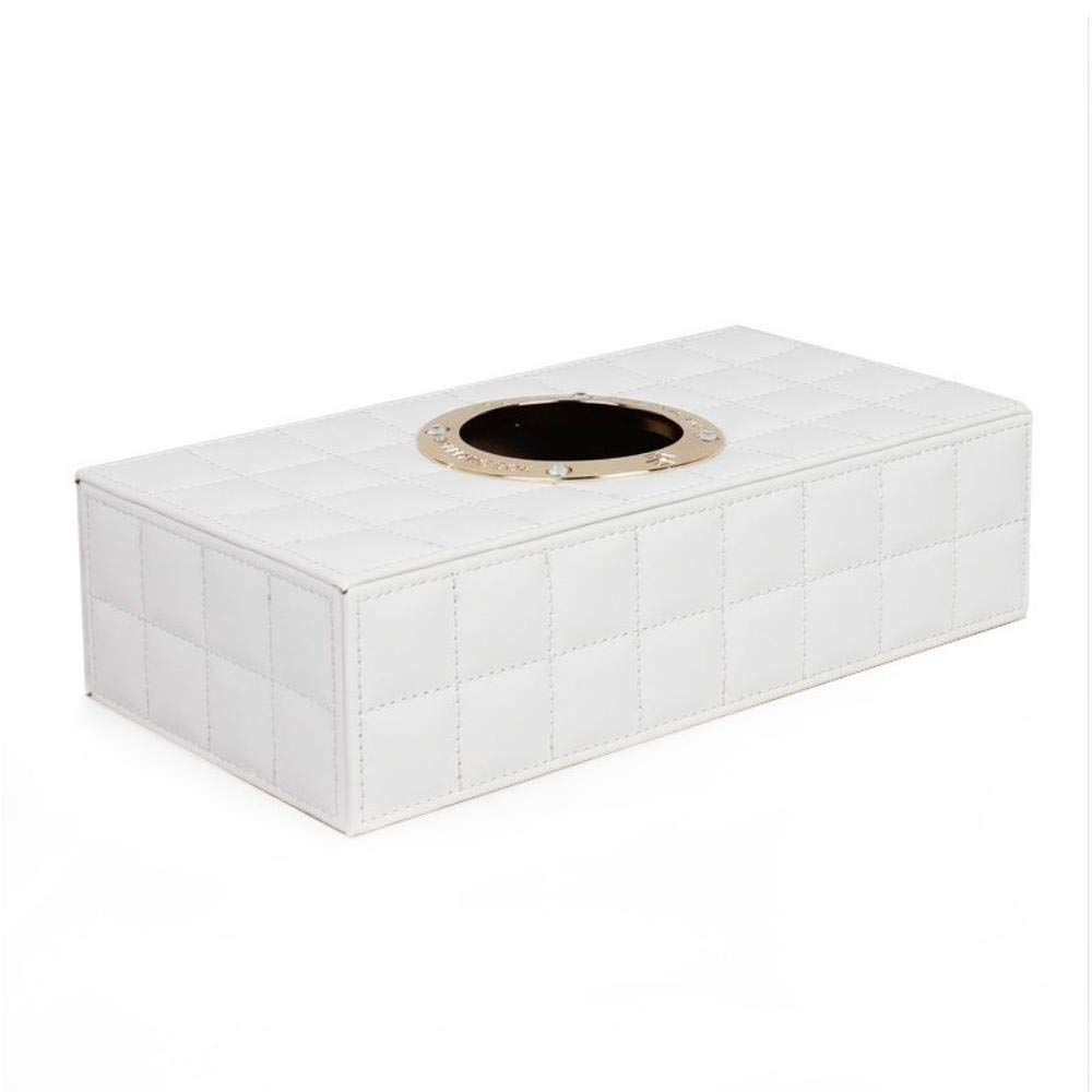 LIJ Caja de pañuelos organizador de maquillaje, caja de almacenamiento, caja de almacenamiento para coches, bombeo de cartones de cartón, accesorios, caja de pañuelos: Amazon.es: Hogar