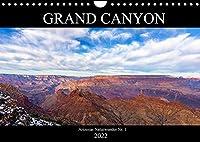 GRAND CANYON - Einblicke (Wandkalender 2022 DIN A4 quer): Arizonas Nationalpark Nr. 1 in Farbenpracht (Monatskalender, 14 Seiten )