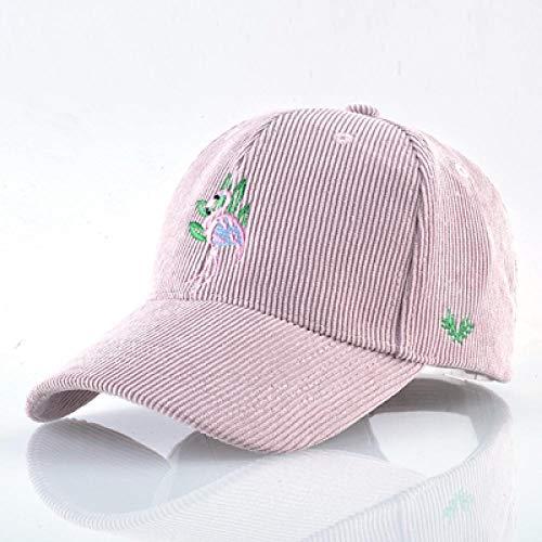 Cappello da baseball Primavera Estate Retro Fenicottero Ricamo Cappello da Baseball Cap Per gli Uomini Donne Traspirante Casquette Snapback Hip-Hop Cappelli, rosa