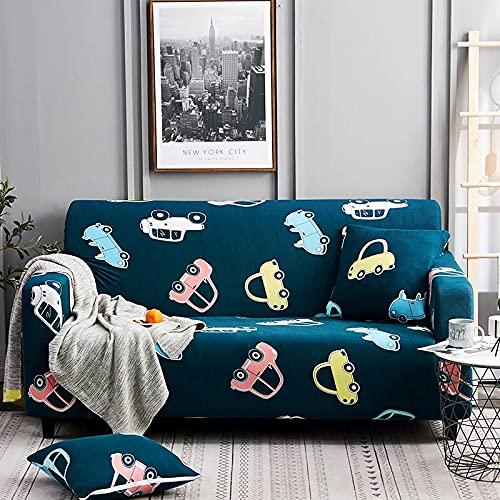 Funda de sofá elástica para Sala de Estar, Funda de sofá, Asiento de Soplo, decoración del hogar, sofá de Esquina, Montaje de sofá, Funda A12 2 plazas