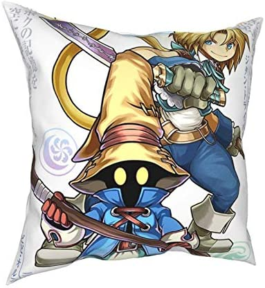 Pooizsdzzz Anime Final Vivi Zidane Tapestry Pillow Case Fashion Square Pillowcase Decor Throw product image