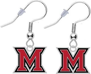 Miami University Oxford Ohio Logo Earrings