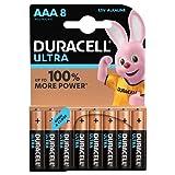 Duracell - Ultra AAA Pilas, paquete de 8