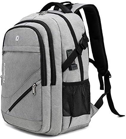 FENGDONG Waterproof Large Laptop Backpack 17 3 inch Durable Travel School College Backpack Bookbag product image