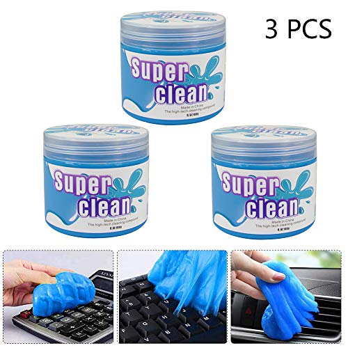 Cameras PC Laptops Cleaning Gel for Car Car Cleaning Kit Universal Detailing Automotive Dust Car Crevice Cleaner Auto Air Vent Interior Detail Removal Putty Cleaning Keyboard Cleaner for Car Vents
