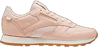 Reebok Womens Classic Leather Sneaker, Adult, Rose Cloud/Rose Gold/Chal