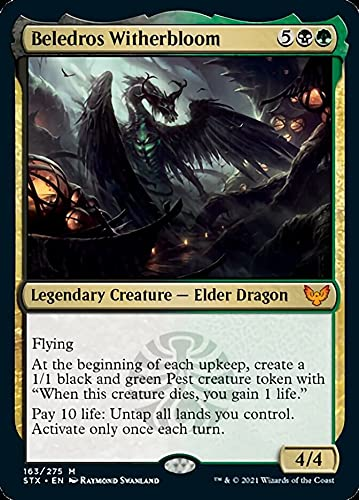 Magic: The Gathering - Beledros Witherbloom (163) - Foil - Strixhaven: School of Mages