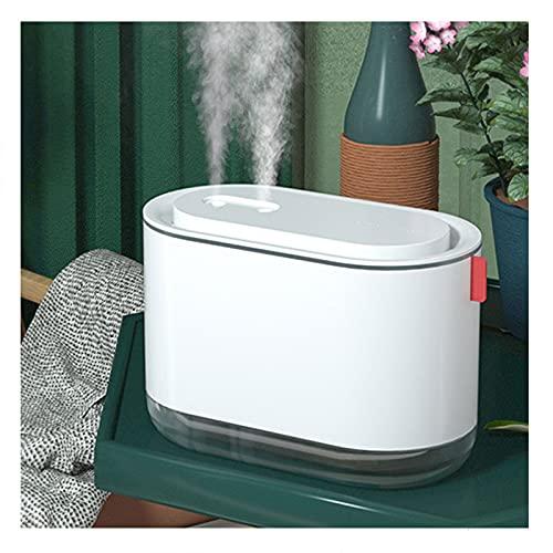 gaoxiao Humidificador Recargable por USB, Top-Fill Mini Humidificador Ultrasónico 800ML a Bebés Difusor de Aroma, Ultra Silencioso Luces Nocturnas Apagado Automático(Color:Blanco)