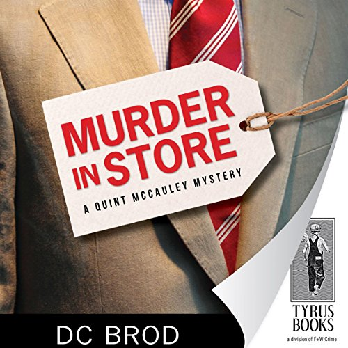 Murder in Store audiobook cover art