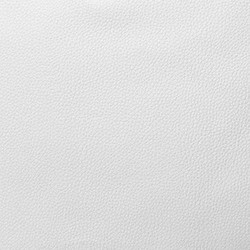 Morbidissimi Tessuto Ecopelle al Metro Cannes 550 gr/mq Finta Pelle h. 140 cm R027 Bianco