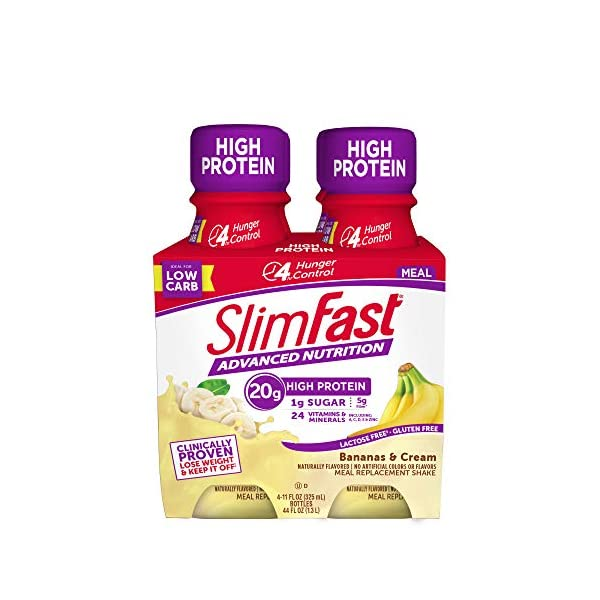 Slimfast Advanced Nutrition Shake – Ready to Drink Meal Replacement