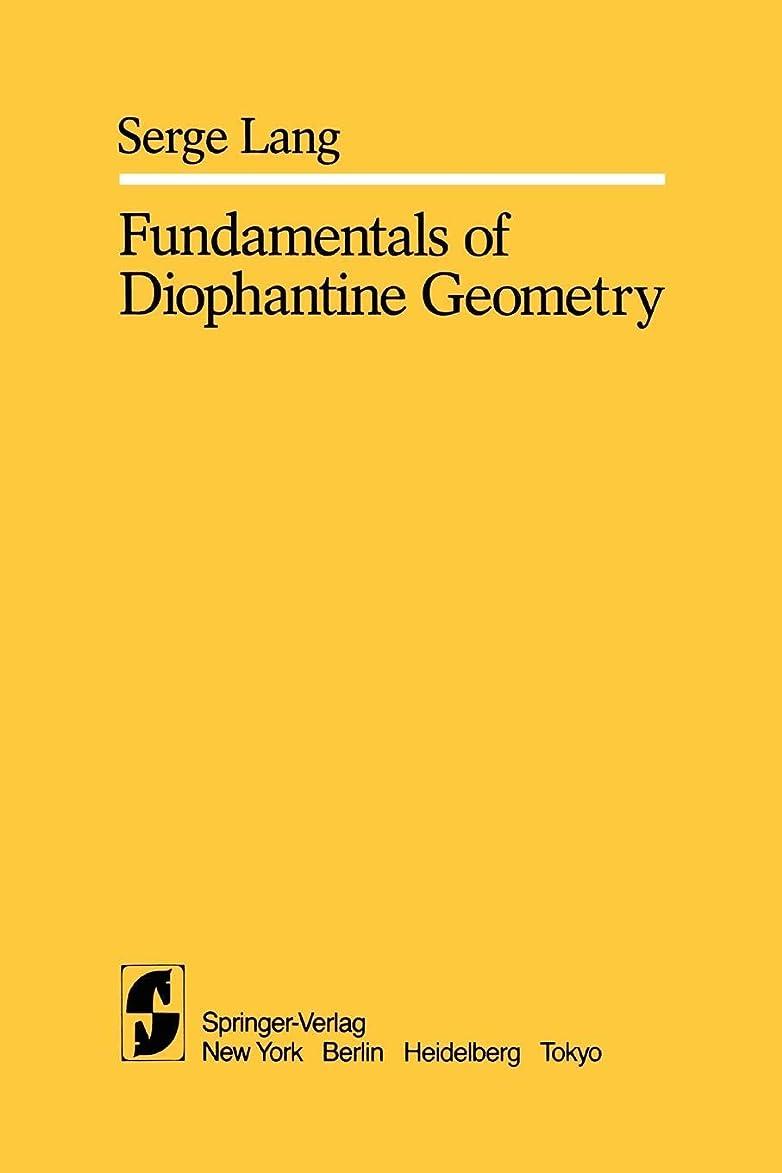 置くためにパック手荷物貯水池Fundamentals of Diophantine Geometry