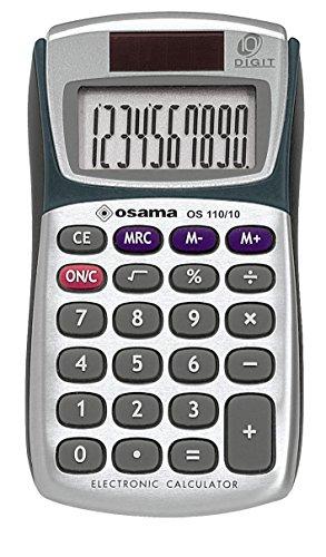 METAL rekenmachine met 10 cijfers