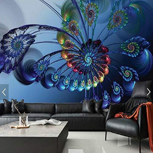 creatieve veren salontafel bureaublad ontwerp bar grote muurpapier woonkamer slaapkamer schilderij tv achtergrond 3D-behang 350×245cm