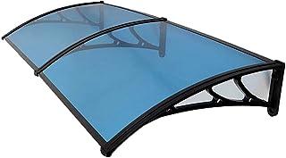 QYQPB Canopy para Puertas Y Ventanas, Toldo De Patio, Toldo De Vidrio A Prueba De Lluvia con Aire Acondicionado Exterior, Incluyendo Soporte De Acero Plástico, PC Endurance Board (Size : 60 * 60cm)