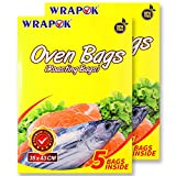 WRAPOK Roasting Cooking Bags Ove...
