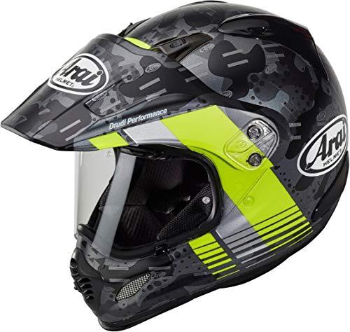 Arai Tour-X4 Cover Casco motocross Grigio/Giallo S (55/56)