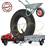 ECB08DSD Cámara de aire 4.00-8 Válvula TR13 para neumático rueda remolque remolque remolque tractor falsa césped jardín