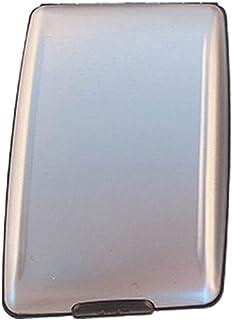 DBSUFV Estilo Simple RFID Multifuncional Ligero y Fuerte Seguridad de Aluminio Duradera Cartera Tarjetero de Moda