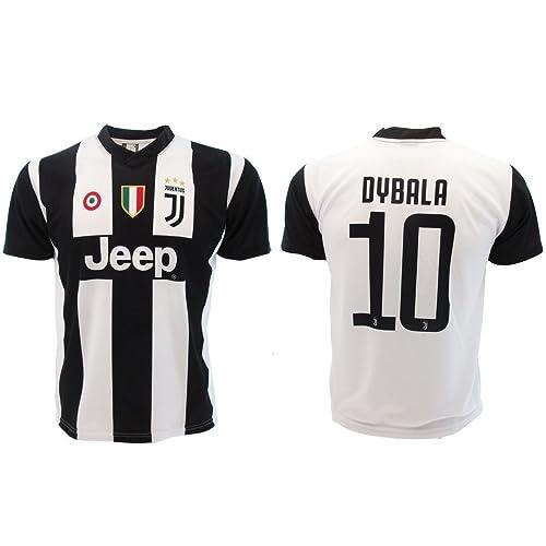 Camiseta de Fútbol Paulo Dybala 10 Juventus Home Temporada 2018-2019  Replica Oficial con Licencia 0dae3f50cdf34