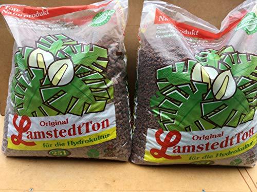 2 x 25 ltr. Hydrokultur Blähton (Lecaton) Lamstedt Ton 1x Korngröße 8-16mm 1 x Korngröße4-8mmHydrokulturen Originalverpackung