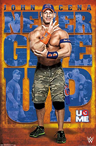 Trends International WWE - John Cena 17 Wall Poster, 22.375' x 34', Unframed Version