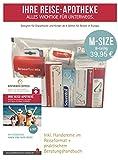 Reiseapotheke von Apotheken-Express (M-Size) 8-teilig inkl. einer Handcreme von Pharma Nature und praktischem Beratungshandbuch