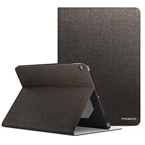 MoKo Case Fit New iPad Air 3 2019(3rd Generation 10.5 inch)/iPad Pro 10.5 2017 - Premium Light Weight Stand Folio Shock Proof Cover Protector iPad Air 2019/iPad Pro 10.5, COFFEE(Auto Wake/Sleep)