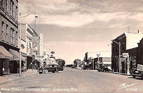 Main Street Denver Mall Evanston Wyoming SALENEW very popular! postcard