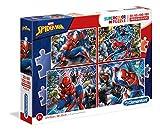 Clementoni- Marvel Spider-Man Conjunto De Puzzles, Color Multicolor. (21410.5)