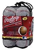 RAWLINGS OLB3BAG12 Liga Oficial de Béisbol Uso Recreativo, Bolsa de 12