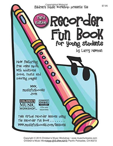 The Recorder Fun Book: for Young Students
