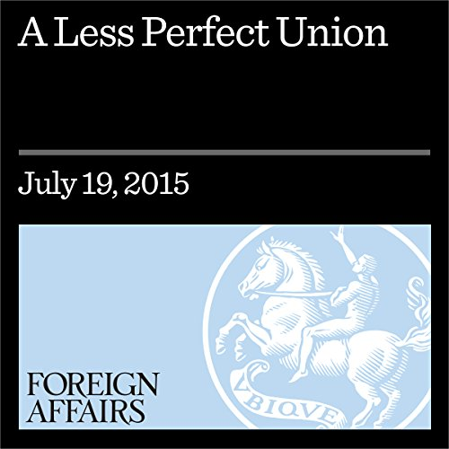 A Less Perfect Union Cover Art