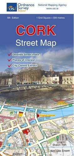 Ordnance Survey Ireland: Cork Street Map (Irish Street Maps)