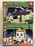 LEGO Minecraft The End Battle & LEGO Minecraft The Skull Arena